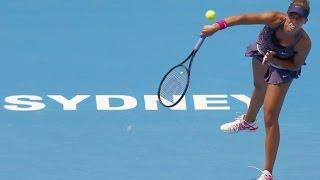 2014 Apia International Sydney Day 1 WTA Highlights