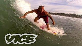 Big Wave Surfing In Mexico