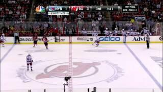 Zach Parise 2 Goals 5/21/12 Devils vs Rangers NHL Playoffs