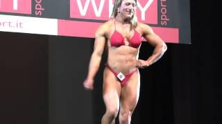 Enza Cordio - Competitor No 73 - Physique - Prejudging - NABBA World 2013