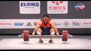 2011 Paris World Weightlifting Championships +105kg men snatch