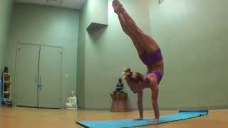 Yoga Handstand Backbend Transition with Kino