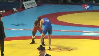 2011 Worlds Freestyle 66kg - Andriy Stadnyk (UKR) vs. Teyon Ware (USA)