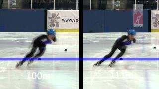 Short Track Speed Skating Track Sizes
