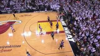 Ray Allen AMAZING game-tying 3 vs Spurs (Ian Eagle call)