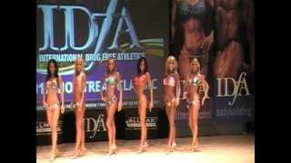 Fitness Competition IDFA Classic 2012 Fitness Model 3rd Place Anne-Josie Roy.MOD