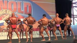Arnold Classic Madrid 2014 Mens Bodybuilding up to 70 kg