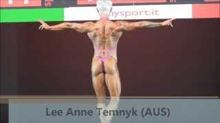 Lee Anne Temnyk (AUS), NABBA Worlds 2013