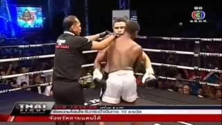 Saiyok Pumphanmuang VS Muhammad Nsubuga Thai Fight Extreme 2013 Sep 22
