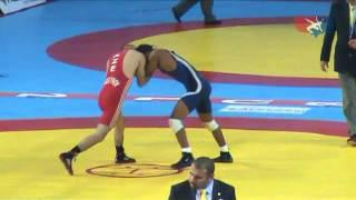 2011 Worlds Freestyle 60kg - Franklin Gomez (PUR) vs. Zelimkhan Huseynov (AZE)