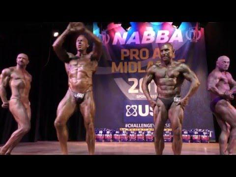 Posedown - Masters Over 50 - NABBA Midlands 2016