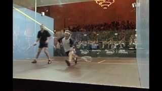 Squash match - Nicol vs White, ToC (Tournament of Champions) 2004