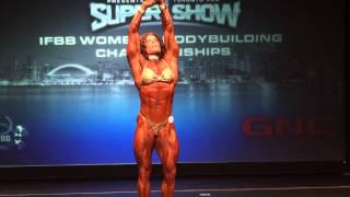 Melody Spetko 2013 Toronto Pro Supershow women's bodybuilding