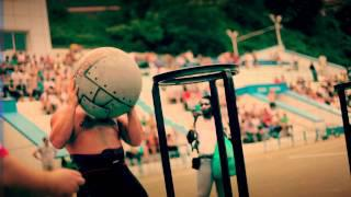 Russia Vs USA Strongman Contest Backstage Promo Trailer. Russia 2011.