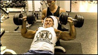 Incline Bench press Max Weight Power Building Training Program
