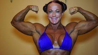 Eva Lagerhorn Blom the Swedish steel female bodybuilder