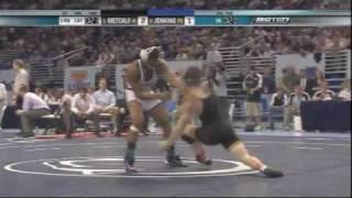 Brent Metcalf vs Bubba Jenkins - 2009 Big Ten Wrestling