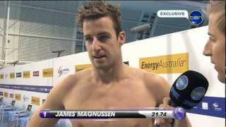 Mens 50m Freestyle Final. [HD]
