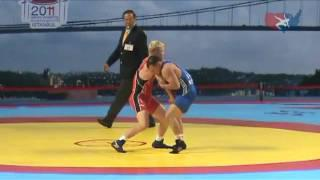 2011 Greco Worlds 84kg - Janarbek Keenjev (KGZ) vs. Cheney Haight (USA)