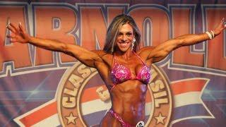Roberta Lopes Gomes routine at Arnold Classic Brazil