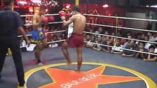 Muay Thai Fight Chiang Mai-7 2003 Rounds 1-2