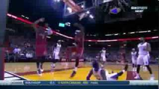 Lebron James Amazing dunk on Ben McLemore (2013.12.20)
