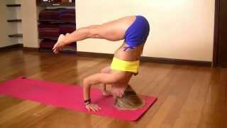 Tripod Headstand with Kino Yoga