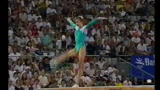 1992 Olympics - Gymnastics AA Final Part 6 - a different perspective.....