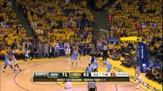 Stephen Curry 29 points vs Nuggets - Full Highlights (2013 NBA Playoffs GM3)
