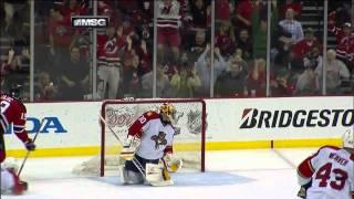 Travis Zajac OT Goal 4/24/2012 Panthers @ Devils NHL Playoffs