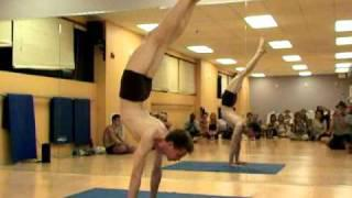 Kasper van den Wijngaard's Yoga Asana Demonstration @ Bikram Yoga Reston