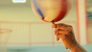 How to Spin on Different Objects | Basketball