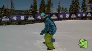 How to 360, 540 and 720 on a Snowboard - Frontside and Backside Spinning Trick Tips - Goofy