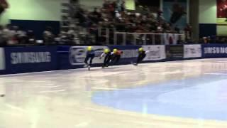 2012 Short Track World Cup #1- JR Celski 39.937 500m World Record