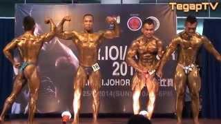 Mr Johor 2014: Posedown all winners
