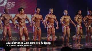 2014 Fitness America MuscleMania Comparative Judging