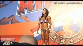 Yeon Woo Jhi 2013 Arnold Classic Europe Women's Physique over 163cm