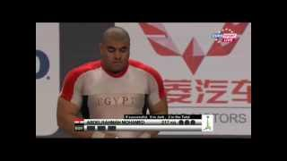 2011 Paris World Weightlifting Championships +105kg men clean&jerk