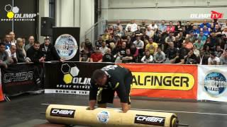 FIBO POWER Strongman ClassX 2013 - Giant LogLift Contest
