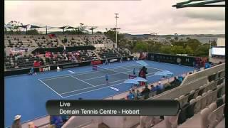 Mona Barthel vs Elina Svitolina, Hobart International 2013 - Full Match Part 2