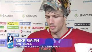 Canada v Sweden Post Game Comments QF