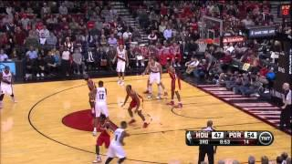 LaMarcus Aldridge 31 points vs Rockets - Full Highlights (2013.12.12)