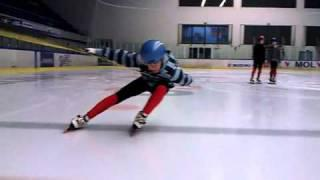 Short Track Speed Skating BEND POSITION