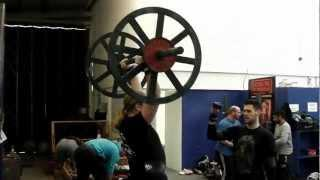 Rich Sennewald axle press 110kg