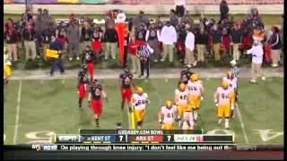 GO DADDY.COM Bowl: #25 Kent State vs Arkansas State