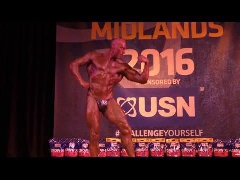 William Perkins – Competitor No 10 - Masters Over 50 - NABBA Midlands 2016
