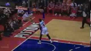 Andre Drummond windmill jam vs Rockets (2013.12.21)