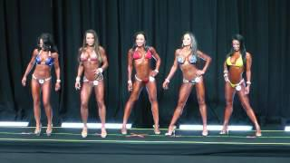2013 Bikini International Prejudging - 1st Call Out