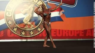 Lisa Cross - Arnold Classic Europe - Madrid 2013