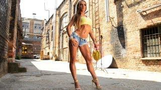 Dia Salamon Fitness Model Outdoor Photoshooting Video part 1.